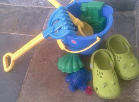Sandy Toys and Shoes