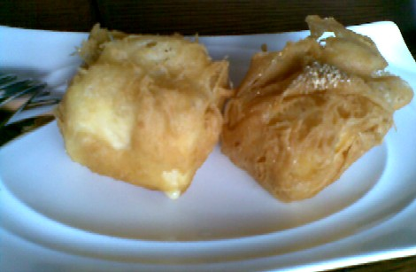 Jing - fried durian ice cream