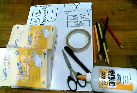 Lion Hand Puppet-materials