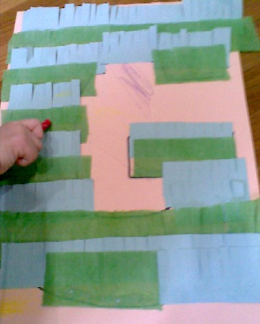 G is for Grass-colouring