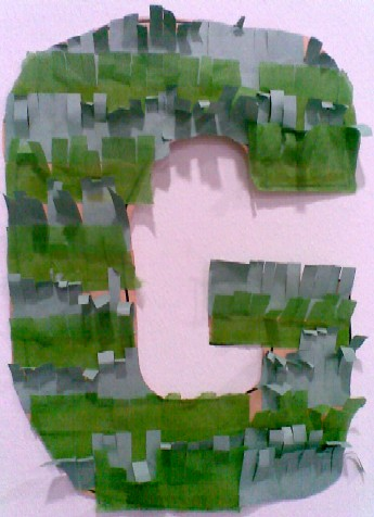 G is for Grass-completed