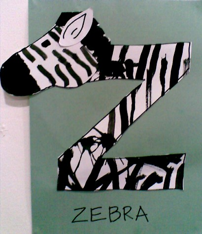 Z is for Zebra-completed