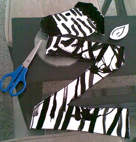 Z is for Zebra-cutouts