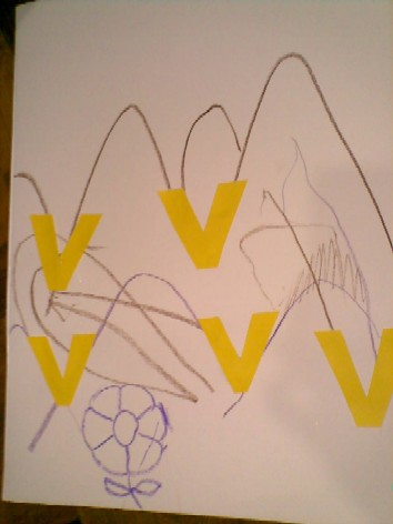 V is for Valley-pasting