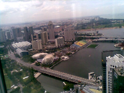 View from the 60th storey
