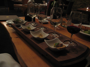 Leeuwin wine flight