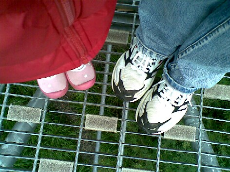 DD and me on the walkway
