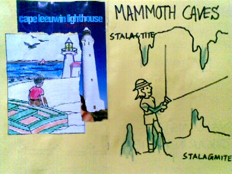 Lighthouses - What do they do?  and Caves - Stalactites and Stalagmites
