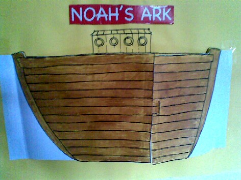 b is for boat - Noah's Ark