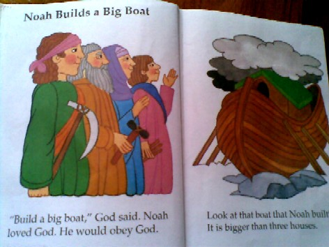 b is for boat - story of the ark