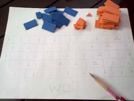 Alphabet Wall Making W Is For Wall Wonderbee